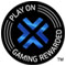 PLAY ON GAMING REWARDED(TM)