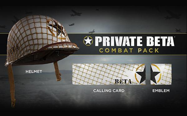 PRIVATE BETA* COMBAT PACK | HELMET CALLING CARD EMBLEM