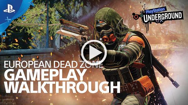 PlayStation® UNDERGROUND | EUROPEAN DEAD ZONE | GAMEPLAY WALKTHROUGH