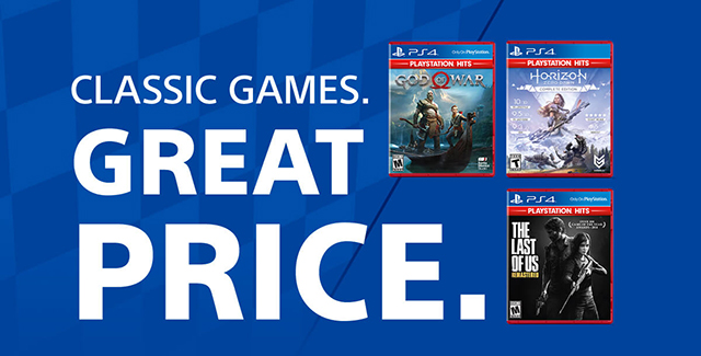 CLASSIC GAMES. GREAT PRICE.